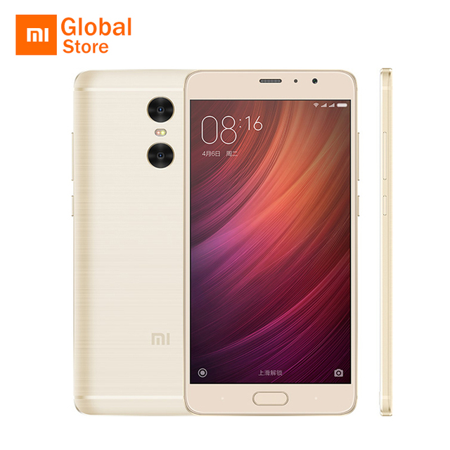 """Оригинал Xiaomi Redmi Pro Премьер 64 ГБ Мобильный Телефон MTK Helio X25 Дека Core 5.5 """"1920x1080 13MP 5MP Двойная Камера Заднего Вида 4050 мАч"""