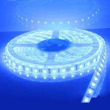 1x  NEW 16.4 FT MARINE BOAT BLUE WARM WHITE WHITE IP68 WATERPROOF LED STRIP LIGHTS 60LED/M WHITE PCB
