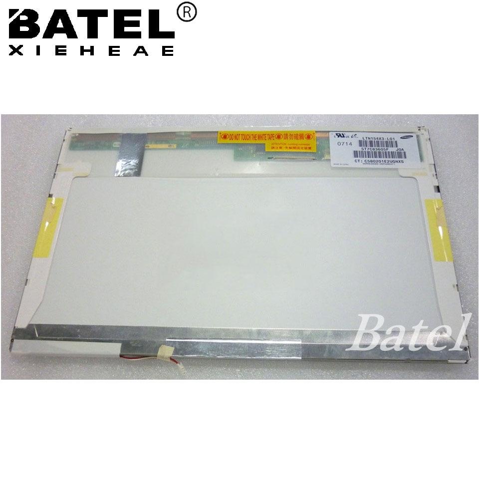 LP154X3-L01 15.4 LCD WXGA LCD Screen Display CCFL Backlight 30 Pin 1280X800 Resolution Replacement g121s1 l01 lcd displays
