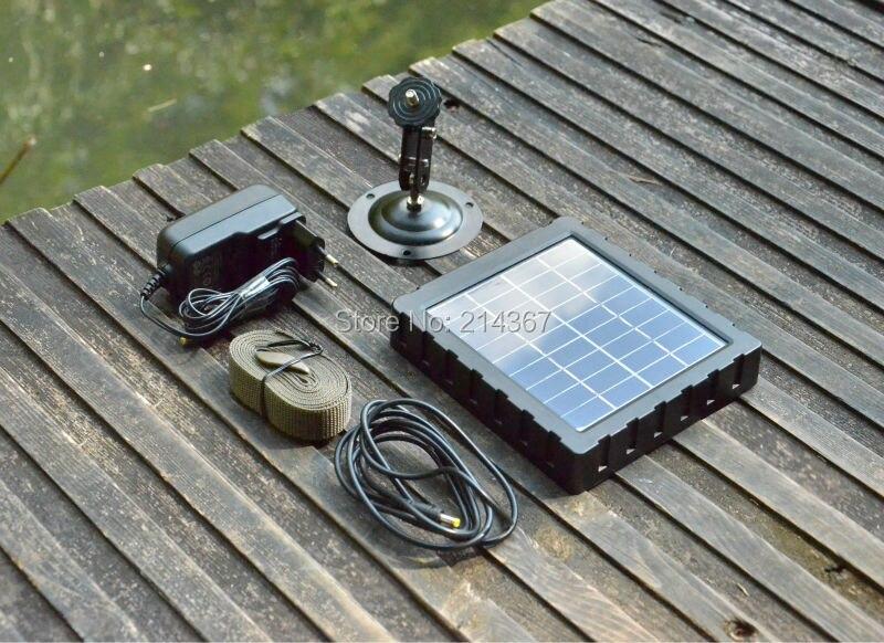 Willfine  Solar Panel Battery 2.6C Hunting Cameras Solar Panel Battery 3.0CG Wild Cameras Accessories Solar Panel Battery 100w folding solar panel solar battery charger for car boat caravan golf cart