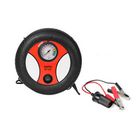 260PSI Portable Air Compressor Tyre Inflator For Automobile Car Bike Electric Inflatable Pump Pressure Monitor Air
