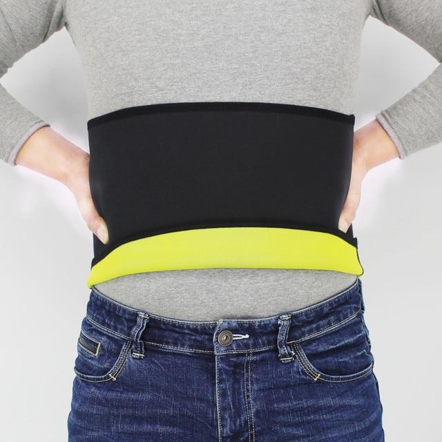 Shapers Belt Men Body Shapers Compression Waist-Trimmer Belts Neoprene Abdominal Slimming Belt Sweat Sauna Trainer Corset 1