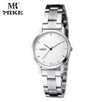 MK Mike Simple Watch Mens Watches Top Brand Luxury Wrist Watch Clock Water Resistant Erkek Kol