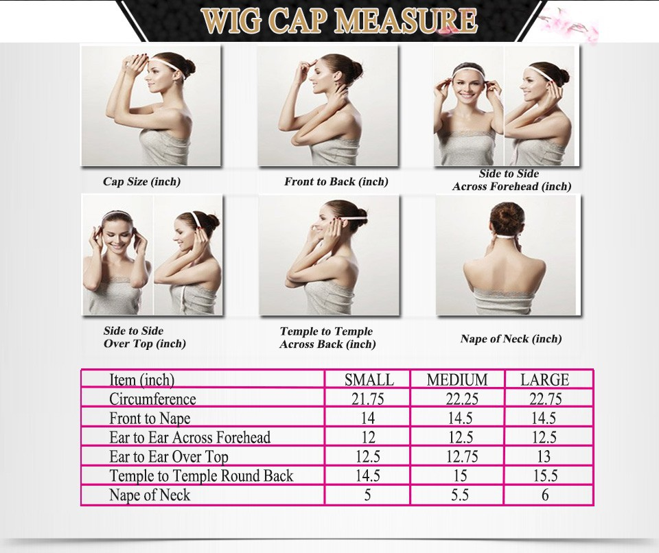 wig cap measure