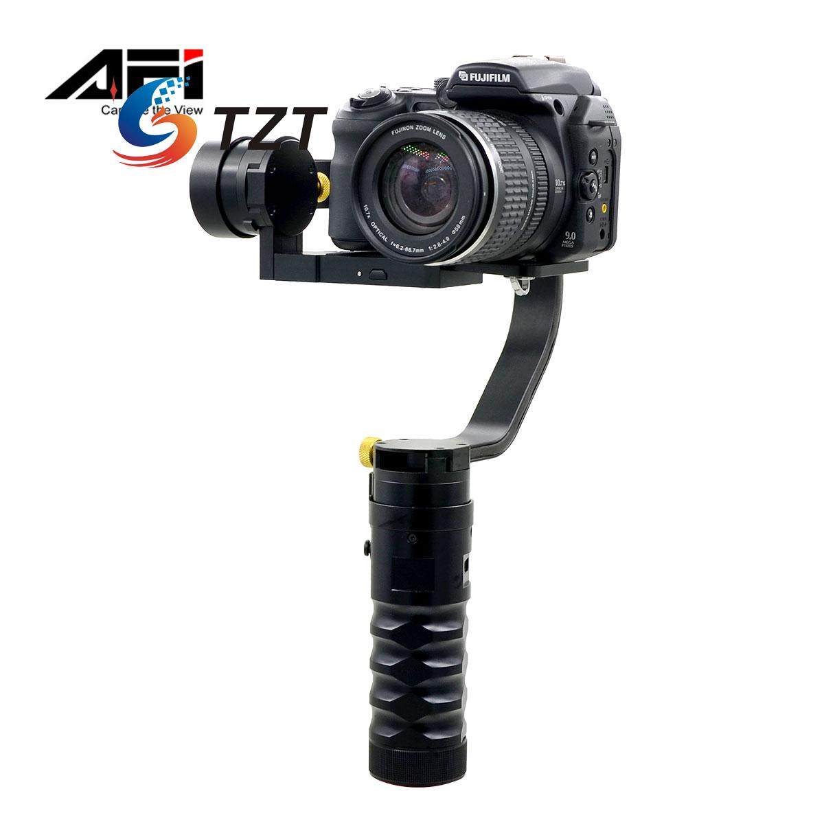 VS-3SD Handheld Brushless Gimbal 3 Axis Steady Camera Stabilizer 32bit Processor for Canon Nikon Sony DSLR afi vs 3sd handheld 3 axle brushless handheld steady gimbal stabilizer for canon 5d 6d 7d for sony for gh4 dslr