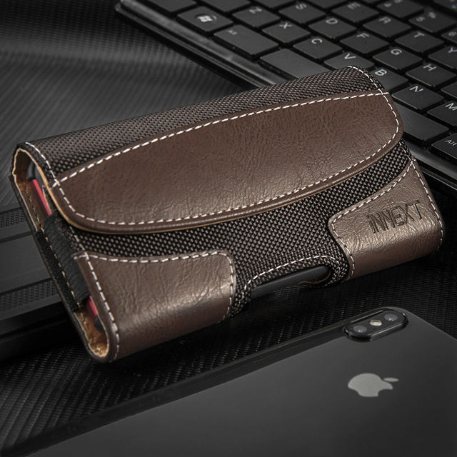Universal Pouch Leather Case 4.7 inch with Card Holder for iPhone iPhone X XS