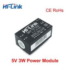 Бесплатная доставка, от переменного тока до постоянного тока, 5 В, 3 Вт, понижающий мини модуль, умный элемент питания