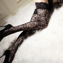 Over Knee Stockings Tube Socks Woman Sexy Stockings Sexy Woman Sheer Lace Top Thigh High In Stocking & Hosiery erotic Lingerie