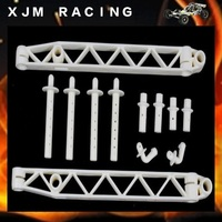 HD Nylon parts Left and Right Body Side Rail set fit HPI KM Rovan Baja 5T, Free shipping