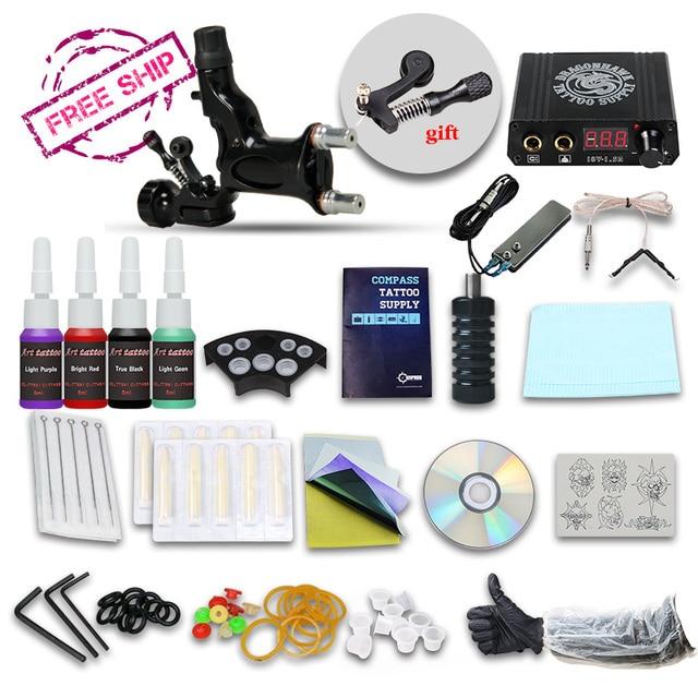 Beginner Tattoo Kit Set  1 Rotary Tattoo  Machine Professional Tattoo kit