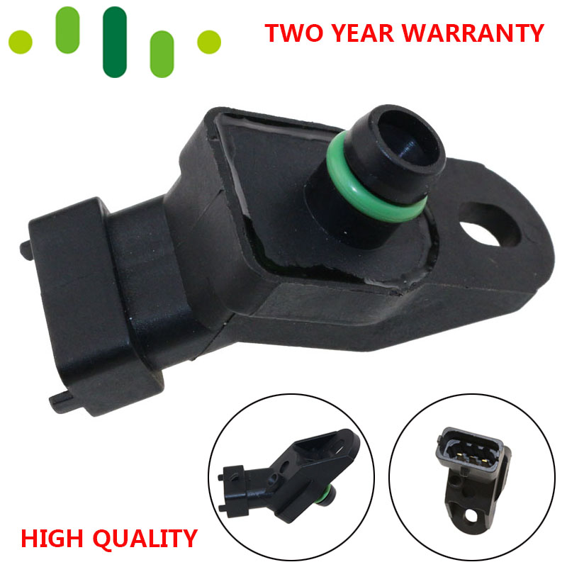 100% Test MAP Sensor Intake Air Boost Pressure Manifold Absolute Druck Sender For Opel Omega B Zafira 2.0 2.2 DTI 0281002438 image