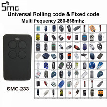 1pcs Auto scan Multi frequency 280-868mhz Universal remote control duplicator garage command gate remote controller rolling code(China)