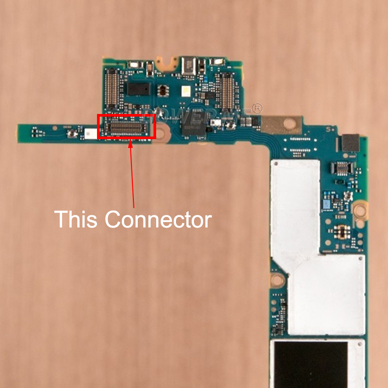Dower Me On Motherboard Power Volume Button Flex Cable FPC Connector Clip Plug For Sony Xperia XZ Premium G8142 G8141 XZP