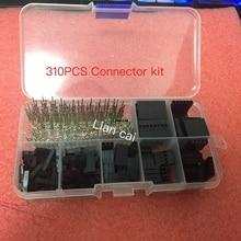 310 шт 2,54 мм мужской+ Женский Dupont провод перемычка и коннектор корпус комплект лучшая цена электрический блок электронные запасы