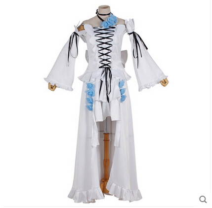 Nuevo Anime Pandora Hearts Cosplay Alice White Rabbit Halloween White - Disfraces - foto 2