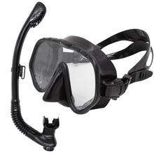 Whale brand Professionell dykning scuba gear simma mask och snorkel varm försäljning dykmask skyddsglasögon och snorkel set