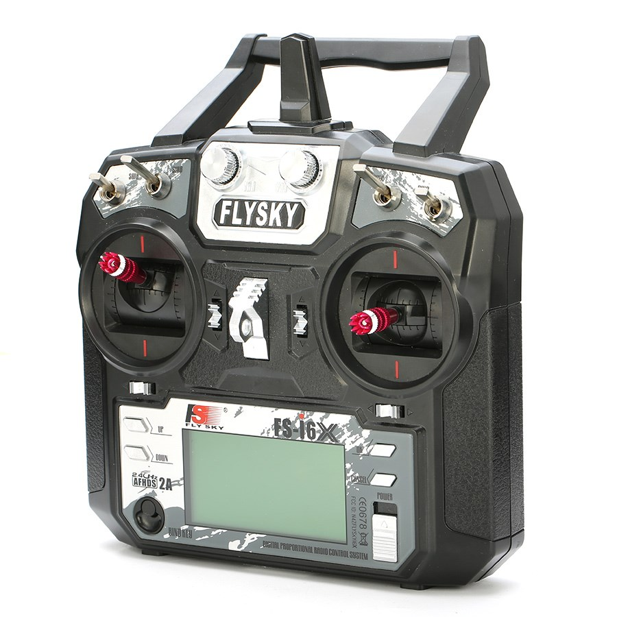 ФОТО Flysky FS-i6X 10CH 2.4GHz AFHDS 2A RC Transmitter With FS-iA10B Receiver Remote Control For Rc Airplane