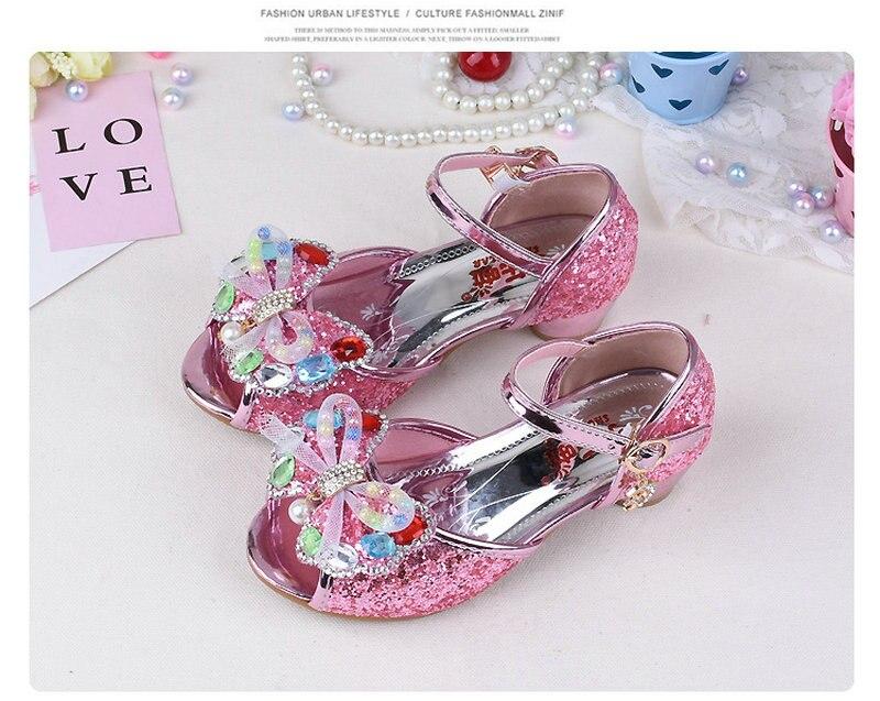 Click here to Buy Now!! Летняя Детская бабочка Босоножки принцессы Сандалии  для девочек Дети Обувь ... f22175ee94c