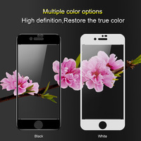 Para A Apple Iphone 7 8 8 além disso Iphone8 8 plus temperado filme vidro protetor de tela Imak pro versão Completa cobertura completa fullscreen