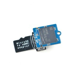 Emmc módulo 16 gb com microsd turn emmc adaptador frete grátis