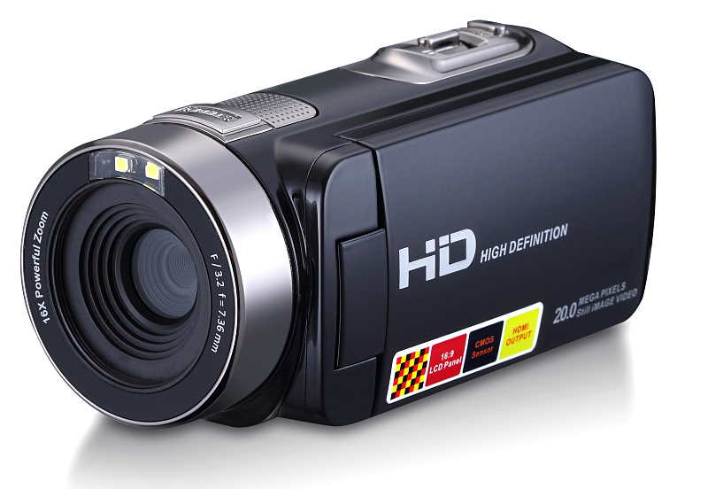 Winait 24MP digital video camera with night vision/home use full hd 1080p 15 fps digital camcorder with 3.0 touch display