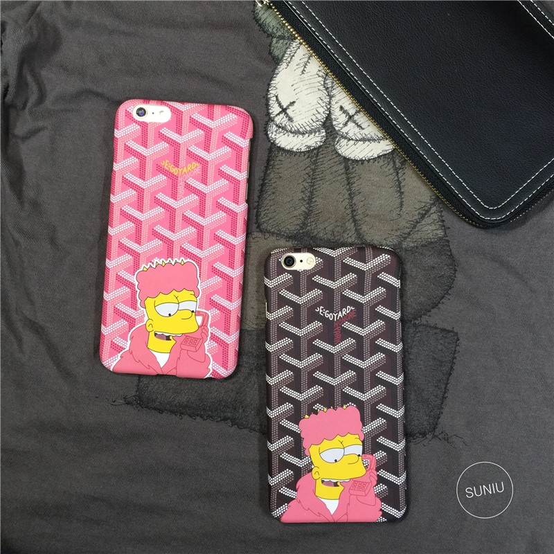 "Newest Cartoon Cases For Simpsons Pattern Painted Hard Phone Cases For iPhone 5 5S 6 6s 7 4.7"" Plus 6 6s 7 Plus 5.5"" Back Cover"