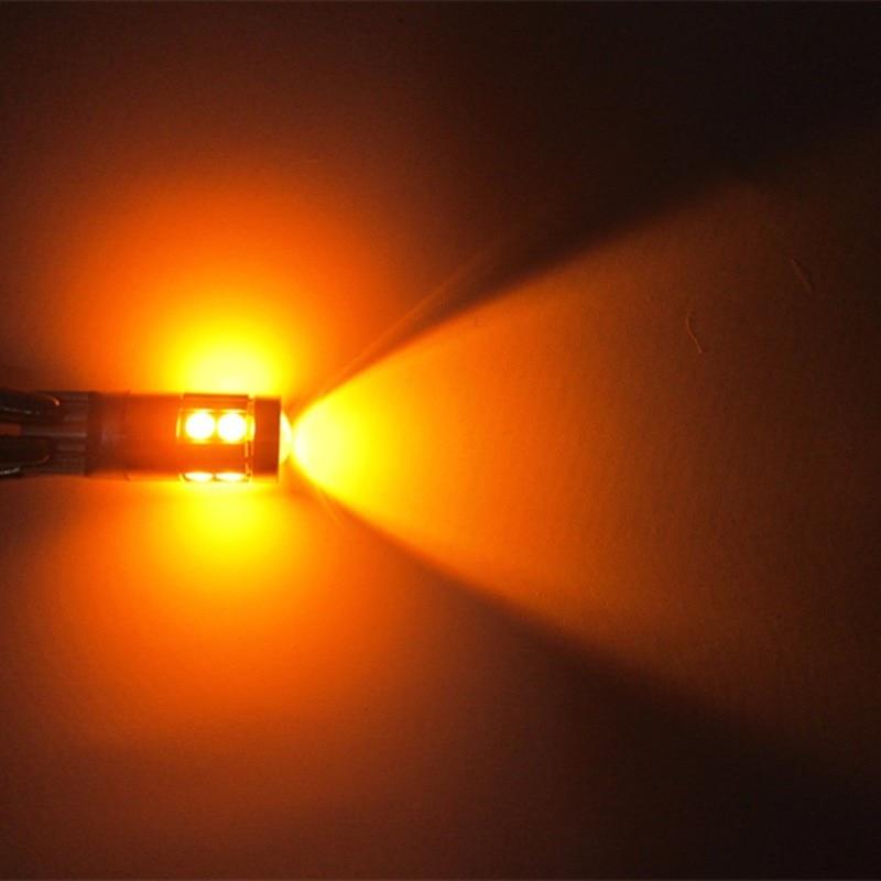 10x T10 3030 9 SMD 9 LED 12V 24V avtomatik paz lampa ampul avtomobil - Avtomobil işıqları - Fotoqrafiya 5