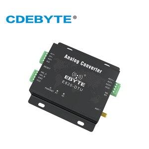 Image 2 - E820 DTU (2i2 433l) 433 mhz modbus 아날로그 수집 2 채널 무선 트랜시버 1 w rs485 인터페이스 433 mhz rf 모듈