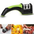 Новые две стадии алмаз керамические кухонный нож точилки точильный камень бытовая заточки ножей кухонные ножи инструменты