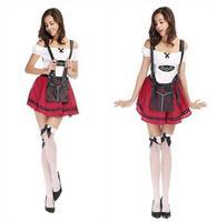 Hot Koop Deguisement Adultes Sexy Cosplay Franse Kostuum Oktoberfest Outfit rollenspel Uniform Halloween Kostuums CE220