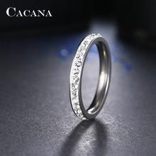Кольцо CACANA CZ no.r19