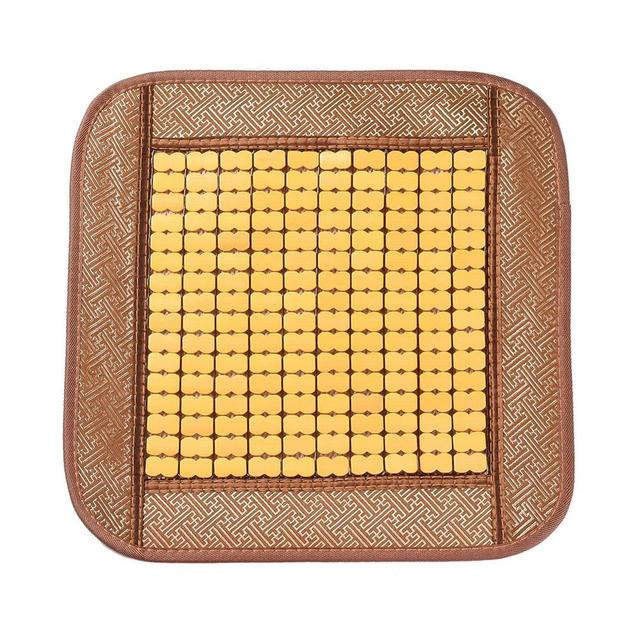 Natural Refreshing Bamboo Massage Seat Cover Cool Cushion For Auto Car Truck & Office Chair Seat Cover