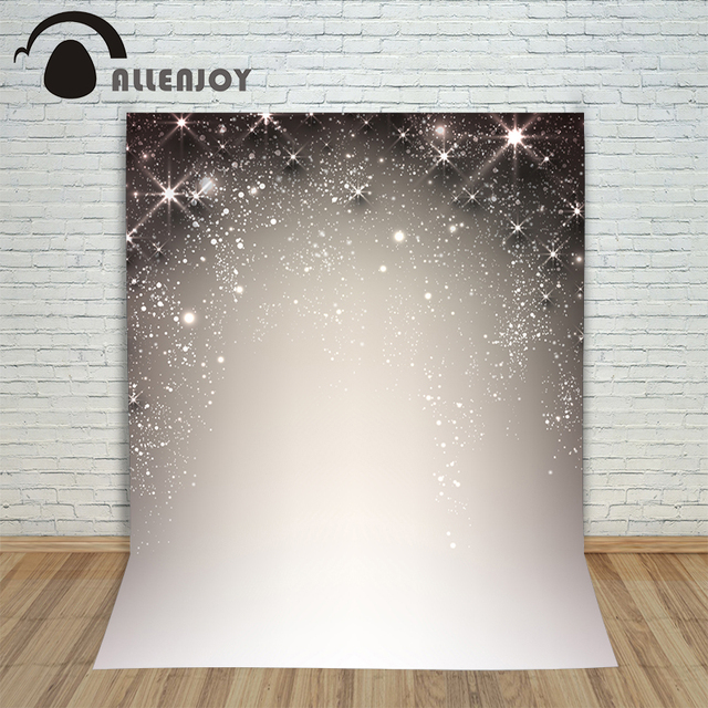 Allenjoy photographic camera background Gray 3D fashion glitter powder modern photocall with backdrop vinyl backdrops