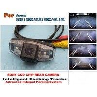Voor Acura CSX/RDX/ILX/ZDX/CL/EL Auto Intelligent Parking Tracks Camera/HD Back up Reverse Camera/Achteruitrijcamera