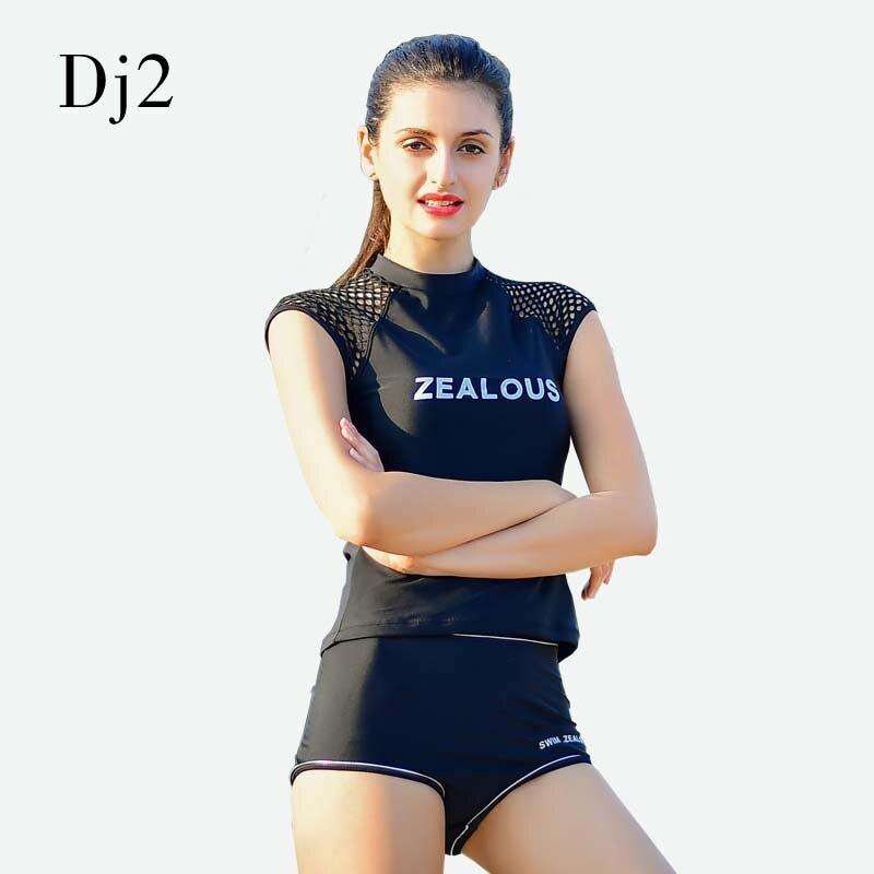 Sport Push Up Tankini Swimsuits Padded High Neck Swimwear ZEALOUS Letter Print Grid Bathing Suits Women Tankini With Shorts XL twist push up peplum print tankini set