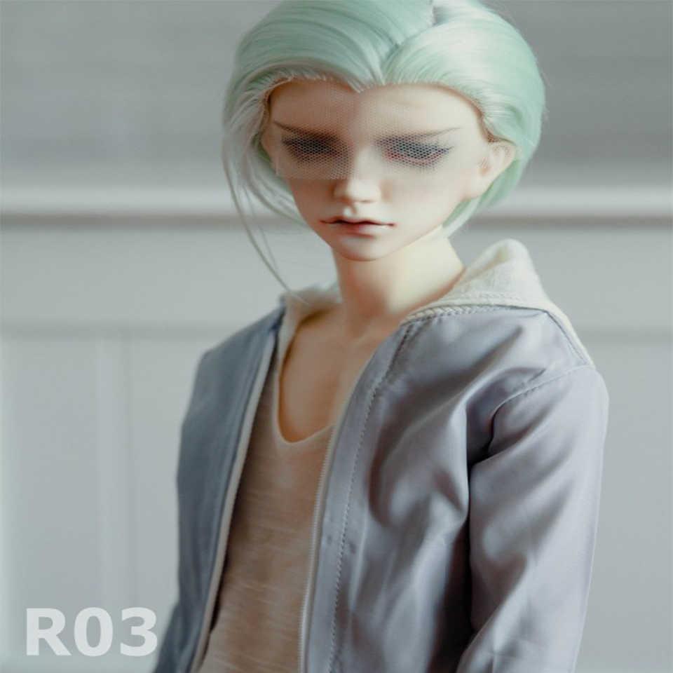 Bybrana короткие волосы 1/3 bjd парик куклы парик высокая температура волокна Бесплатная доставка