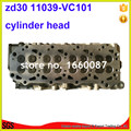 Головка блока цилиндров ZD30 в сборе 11039-VC10A 11039-VC101 AMC908 506 для Nissan