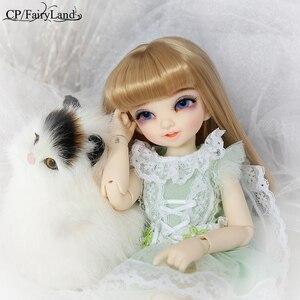 Image 4 - Бесплатная доставка куклы Fairyland Littlefee Reni BJD 1/6 модная фигурка из смолы Высококачественная игрушка для девочек Oueneifs Dollshe Iplehouse