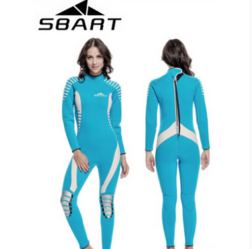 SBART Neoprene 3MM Women / Men Wetsuits Scuba Diving Suit Spearfishing Surfing Wetsuits Triathlon Swim Swimsuit sbart upf50 806 xuancai