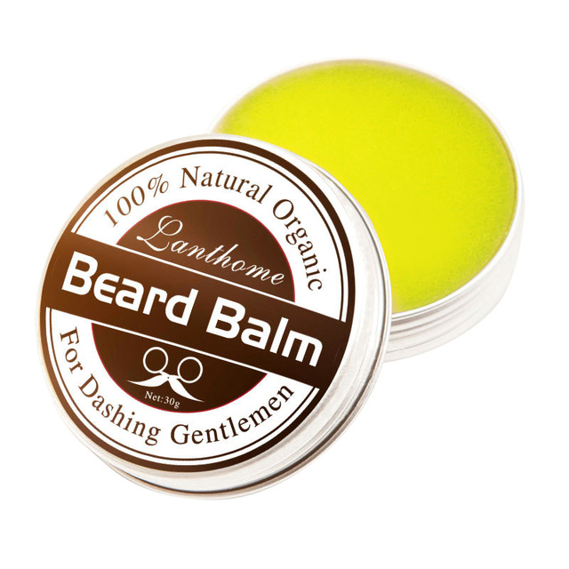 Professional Oil Care Moisturizing Conditioner Beard Balm Natural Conditioner Balm For Beard Moustache Growth Styling