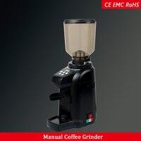Круглый попрыгун кофемолка электрическая кофемолка для эспрессо машины коммерческие бытовые кофемолка