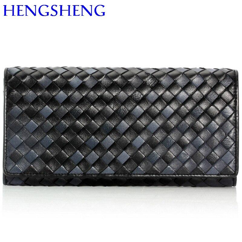 Hengsheng Newly design sheepskin women wallet for credit card wallet women purse of fashion lady leather handbag green wallets economic newly design 2 4mx1 2mx3cm cheap gymnastic mats