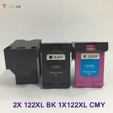 цены на Vilaxh compatible 122xl Ink Cartridge replacement For HP 122 xl Deskjet 1000 1050 1510 2050 1050A 2000 2050A 3000 3050 3050A ink  в интернет-магазинах