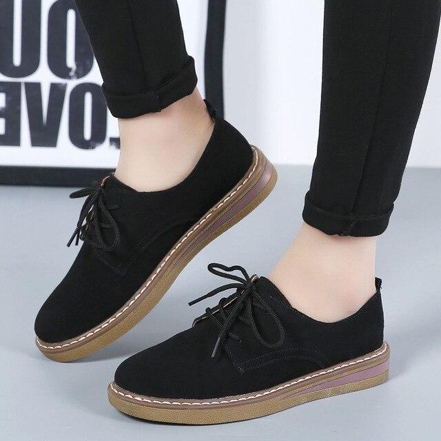 Zapatos mujer moda simple, mocasines mujeres zapatos casual antideslizante plataforma, zapatos feminino.
