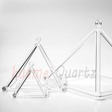 "12 ""større størrelse klar krystal sang pyramide til lydenergi helbredelse og musikterapi"