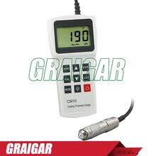Free shipping of DHL Fedex EMS CM10N Coating Thickness Gauge Meter Tester 0-2000um