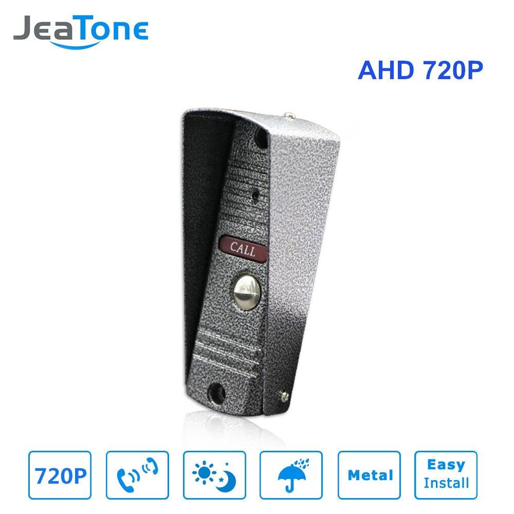 Jeatone видео телефон двери дверной звонок ИК Камера 720 P AHD Камера высокое Разрешение Камера IP65 Водонепроницаемый