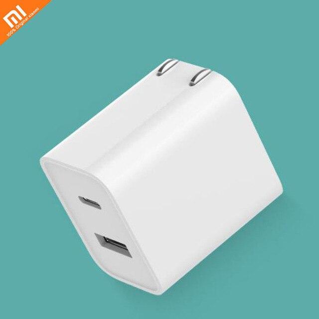 Xiaomi USB Charger 1A1C 30W (maximum) Smart Output PD 2.0 QC 3.0 Fast Charge Type - C 5V = 3A 9V = 3A 15V = 2A 12V = 2.25A smart