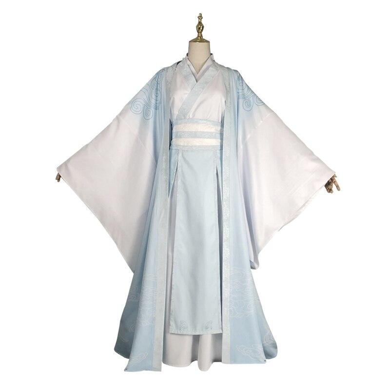 Han Guangjun Lan Wangji Cosplay Grandmaster of Demonic Cultivation Costume Lan Wangji Adult Mo Dao Zu Shi Costume  Unisex