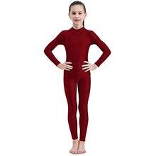 Спортивные От 3 до 12 лет для малышей и подростков; Балетные костюмы для девочек; спортивные костюмы для гимнастики; Одежда для танцев; Длинные Комбинезоны с длинными рукавами для мальчиков